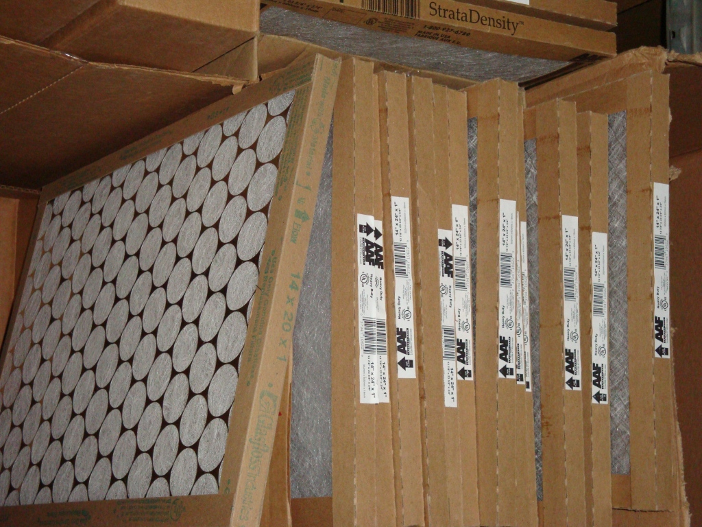 Box of Furnace Filters